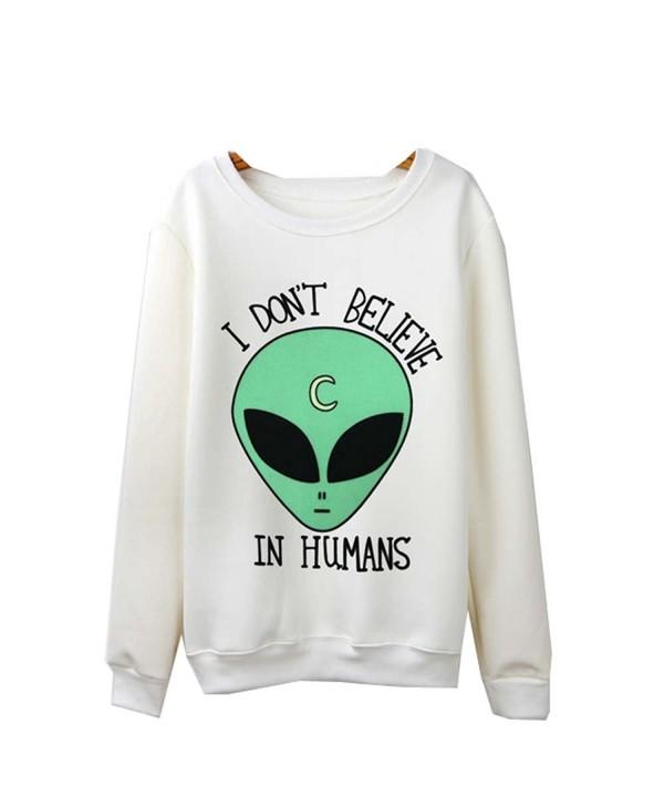 Cinyifan Womens Pullover Outwear Sweatshirt
