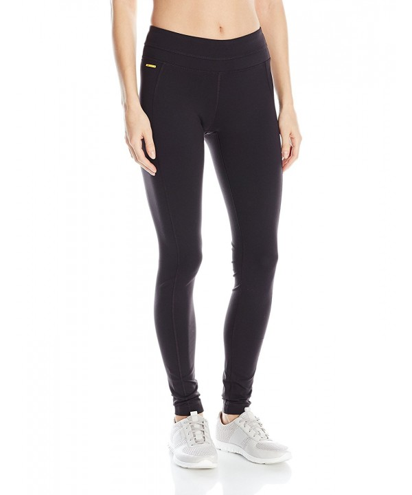 Womens Motion Leggings Black Small