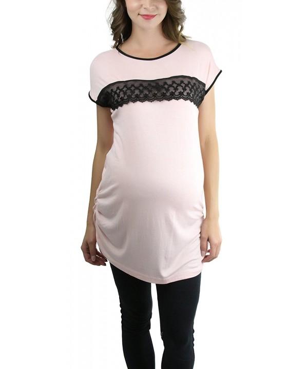 ToBeInStyle ToBeInWomens Maternity Sleeve Ringer