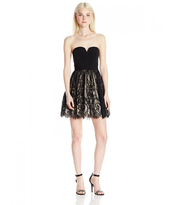 Speechless Juniors Party Dress Black