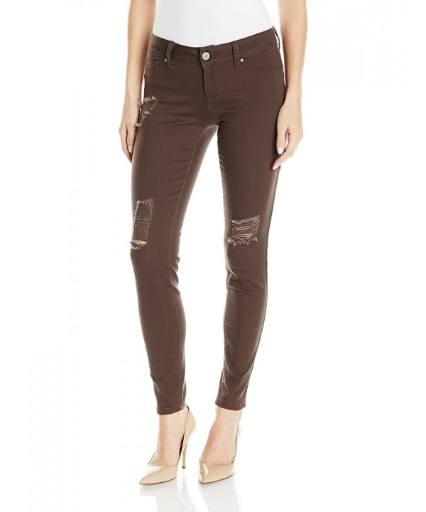 YMI Womens Super Colored Skinny