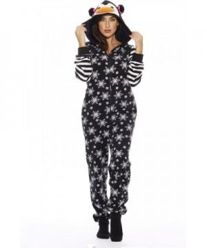 6255 Adult Onesie Pajamas Penguin