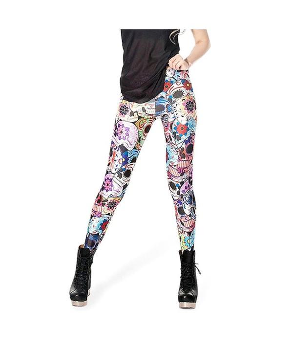 Colorful Digital Printted Leggings colorful