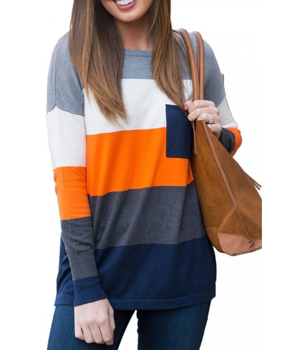 Jennyarn Casual Crewneck T shirt Pullover