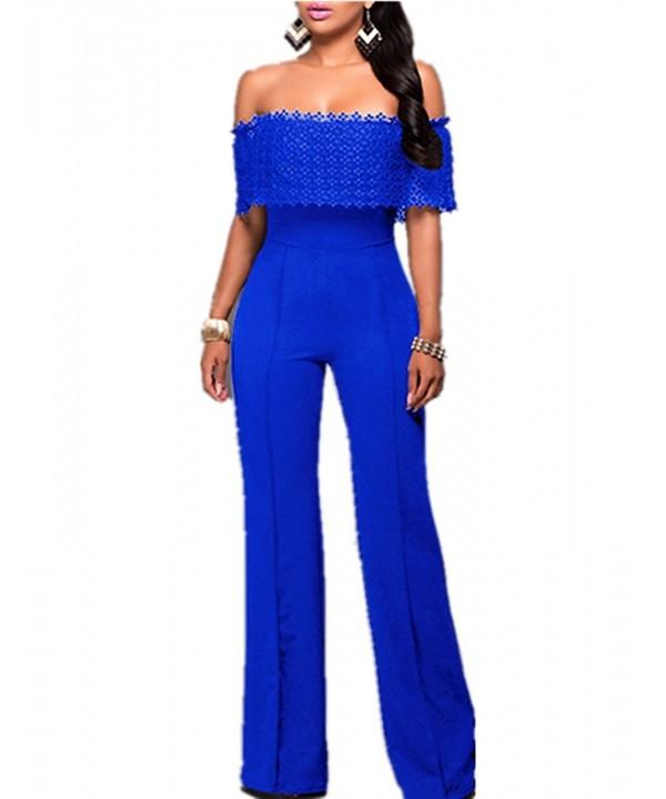 Aro Lora Fashion Shoulder Jumpsuit