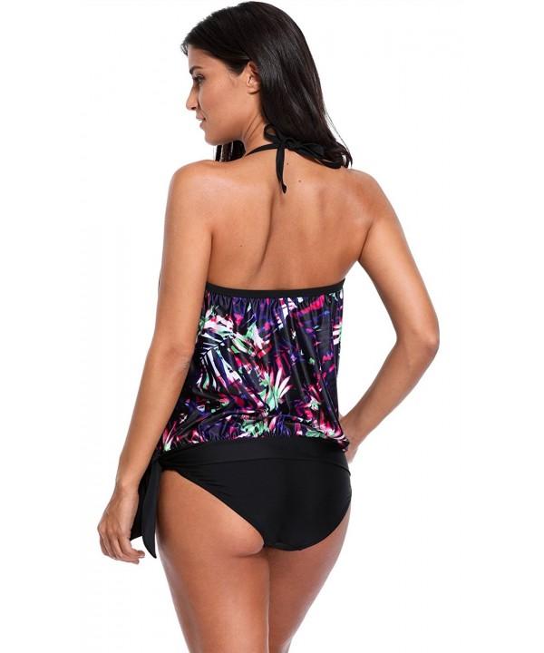 ATTRACO Swimwear Tankini Swimsuit x Large