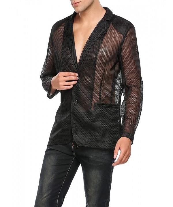 Jinidu Valentines Fishnet Through Clubwear