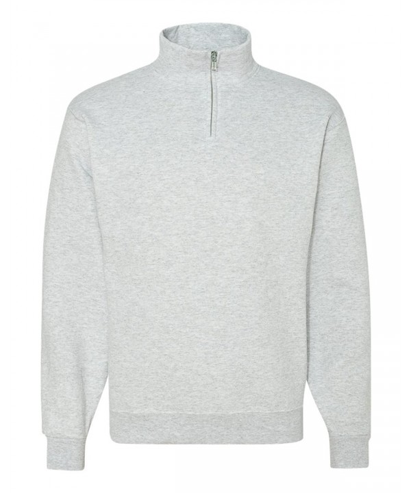 Jerzees NuBlend Quarter Zip Cadet Collar Sweatshirt