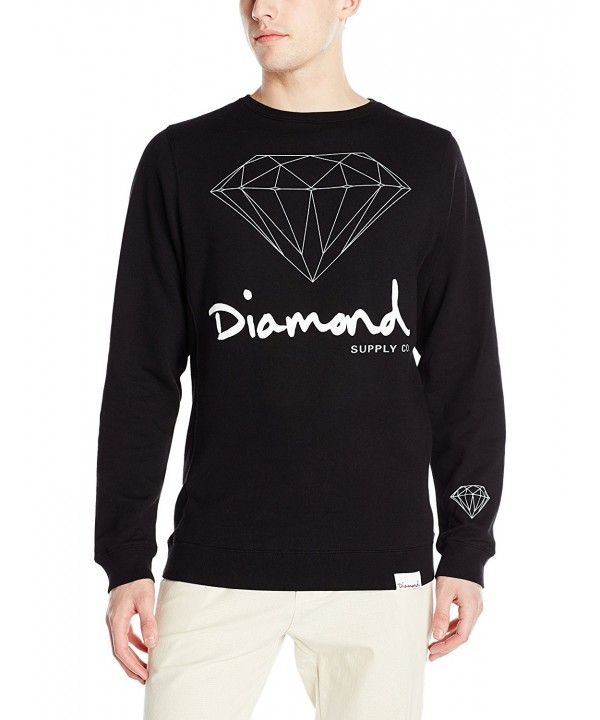 Diamond Supply Script Brilliant Crewneck