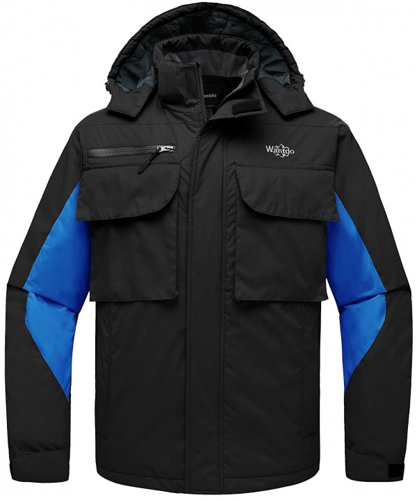 Wantdo Hooded Mountain Waterproof Windbreaker