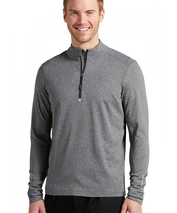 Jockey Sportswear Quarter Pullover Black