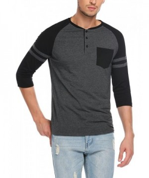 Men's Henley Shirts Wholesale