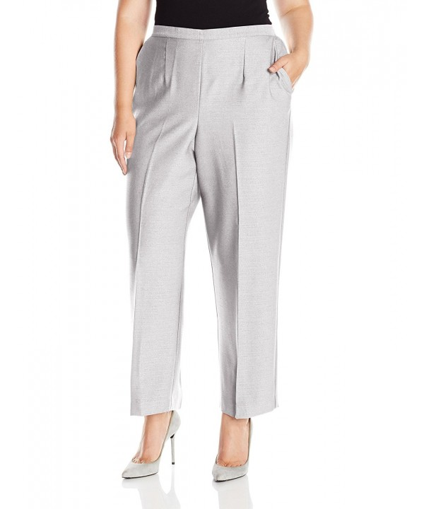 Alfred Dunner Womens Pull Heather