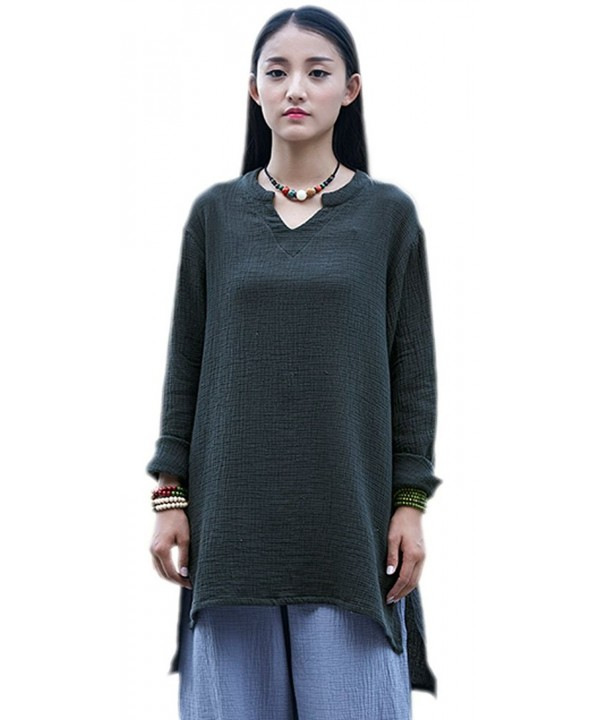 Soojun Womens Weight Cotton Blouses