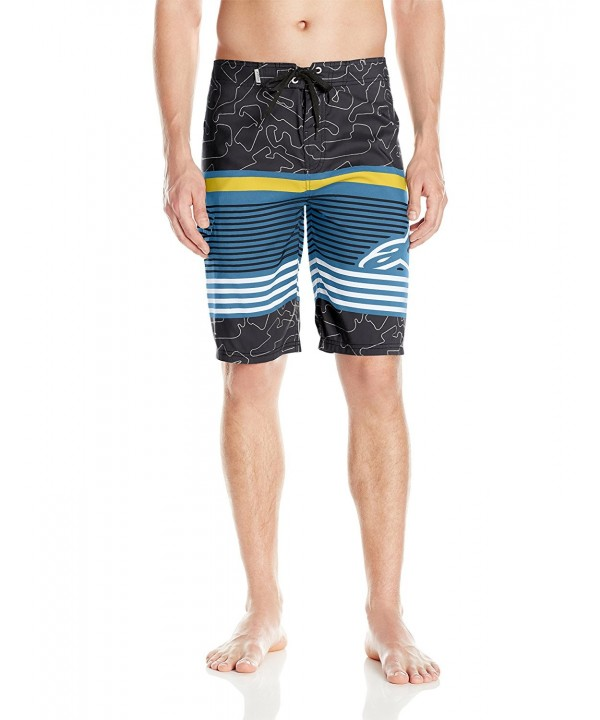 ALPINESTARS Mens Laptime Boardshort Black