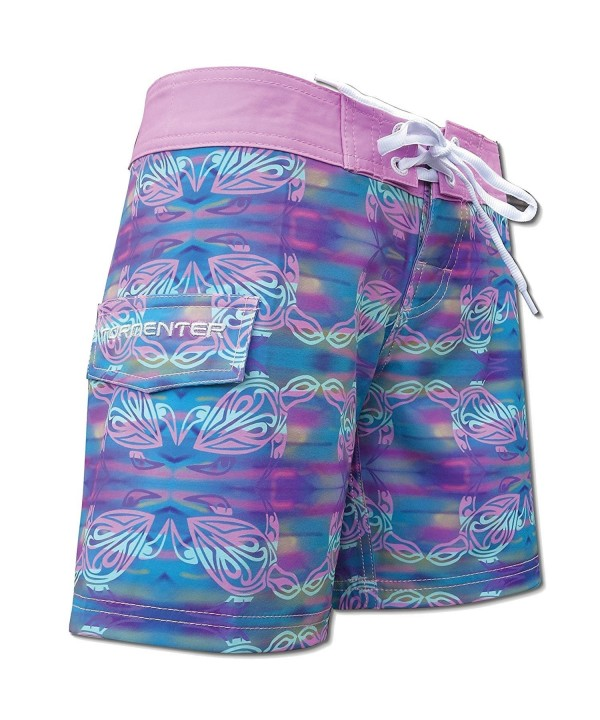 Tormenter Womens Turtle Boardshorts Multi