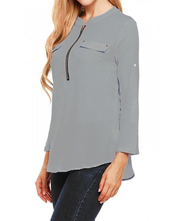 Oyamiki Womens Sleeve Thermal T Shirt