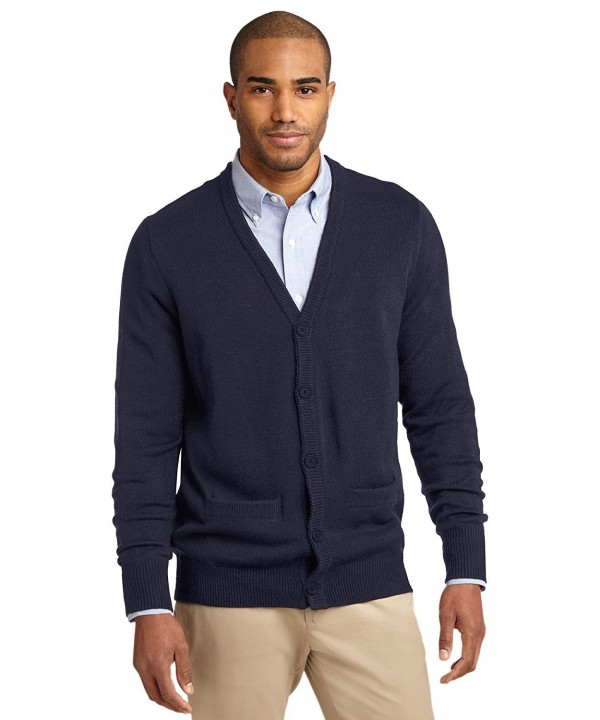 Port Authority Cardigan Sweater Pockets