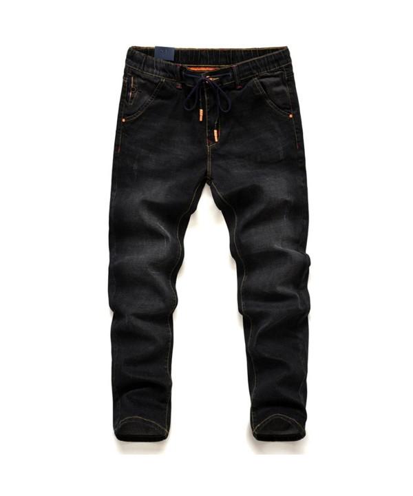 Jeans Mens Plus Size Stretchable