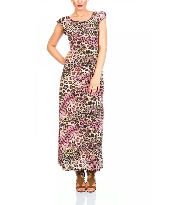 Pistachio Ladies Capped Leopard X Large