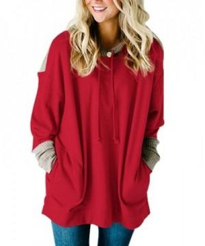 SEBOWEL Fashion Colorblock Pullover Sweatshirts