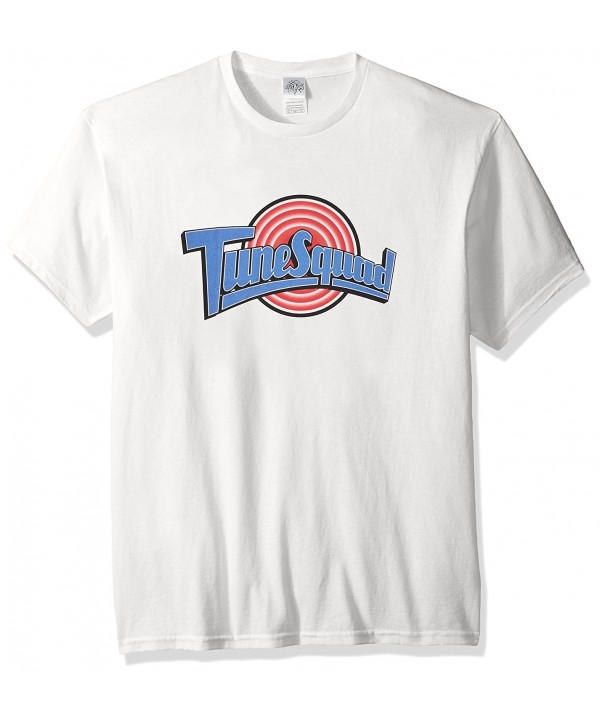 Space Mens Tunesquad T Shirt White