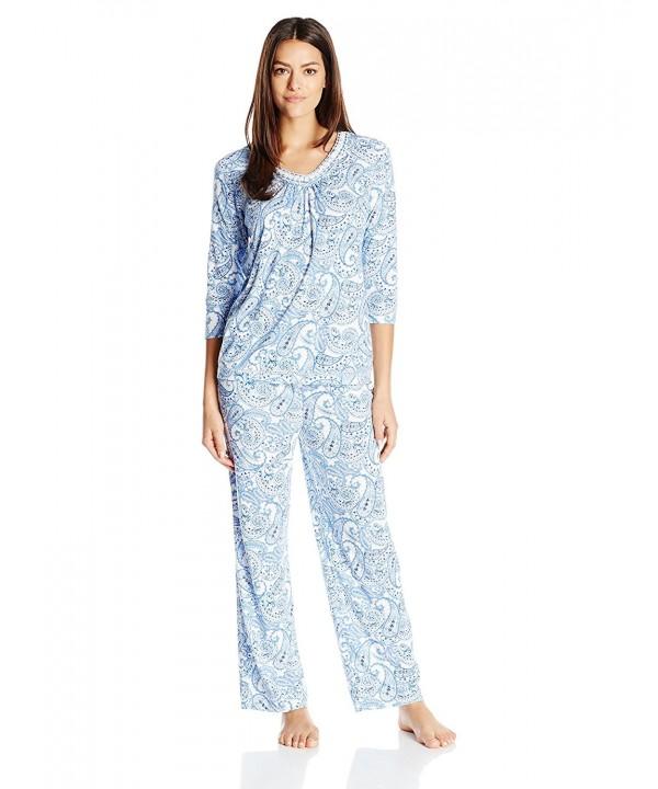b3106b21e67 Women Short Sleeve Pajama Set Button Down Soft Sleepwear With Shorts ...