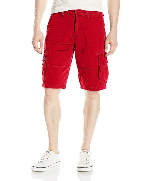 Southpole Mens Flex Cargo Shorts