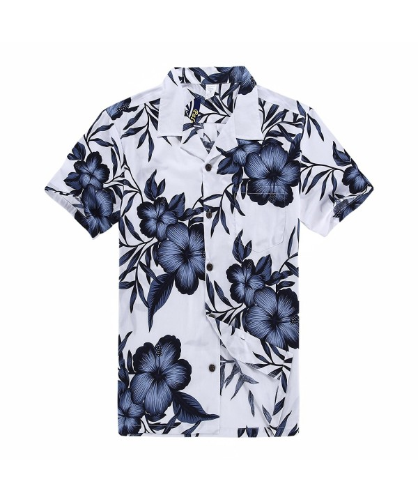 Palm Wave Hawaiian Shirt Floral