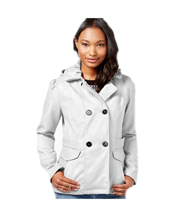 Celebrity Pink Double Breasted Peacoat Medium