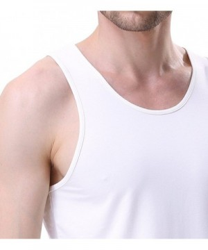 CA Luxury Cotton White Undershirts