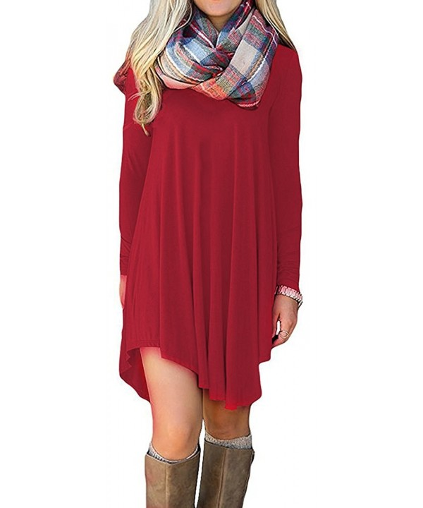 URBAN Womens Sleeve T Shirt Ubk2002_red