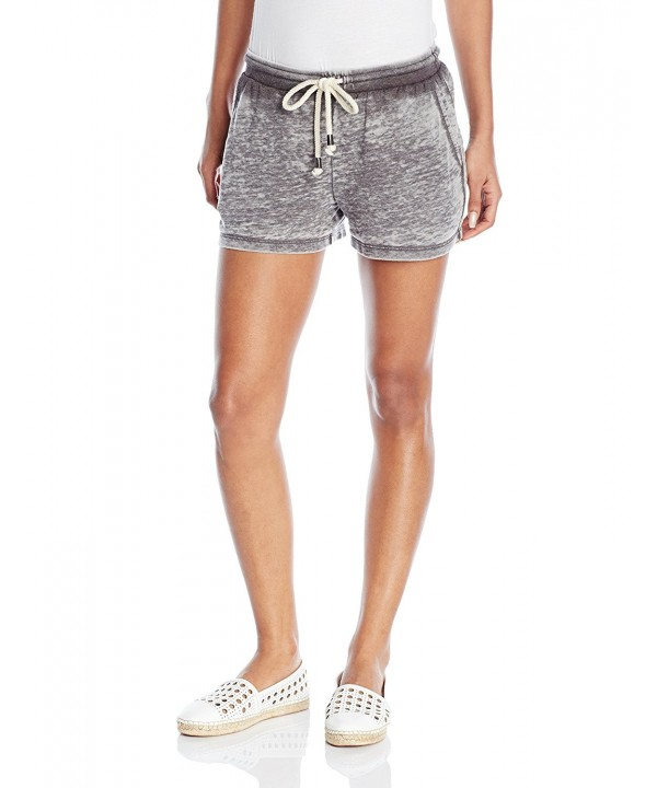 Splendid Womens Drawcord Short Shadow