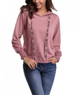 Abollria Fashion Sweatshirt Hoodied Pullover