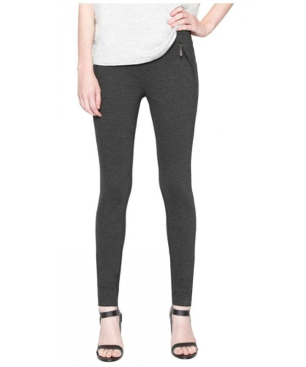 LEGGING ZIPPER POCKETS SQUARE Charcoal