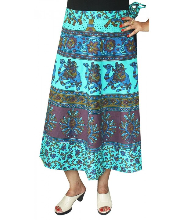 Printed Cotton Long Skirt India
