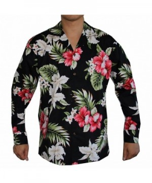 Sleeve Island Flowers Hawaiian Aloha