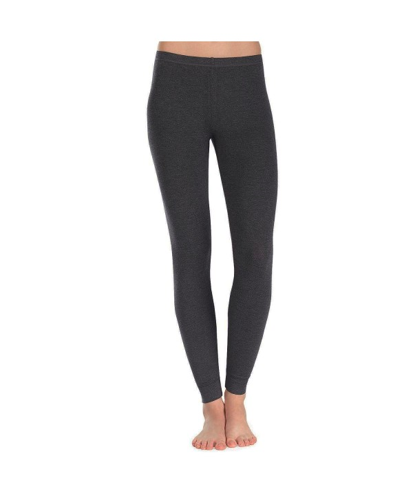 Cuddl Duds Ultra Soft Leggings Charcoal