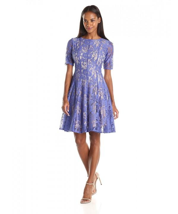 Julian Taylor Womens Flare Dress