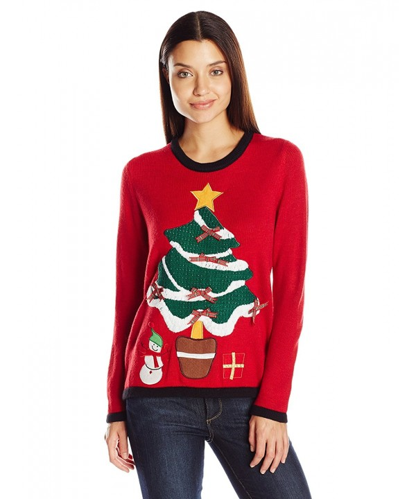 Erika Womens Pullover Christmas Sweater