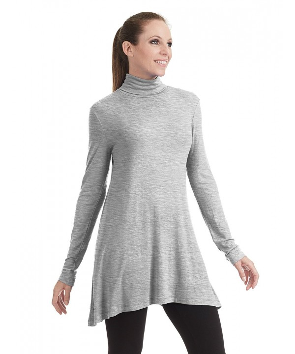 Come Together California Turtleneck Heather_Grey