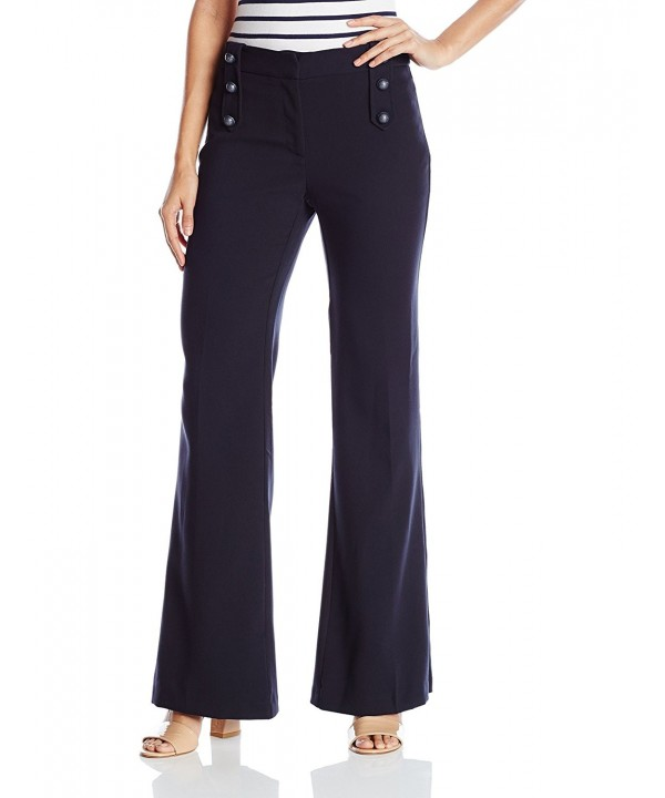 XOXO Womens Wide Trouser Button