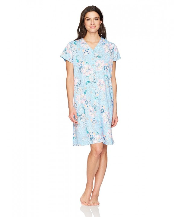 Miss Elaine Womens Interlock Floral