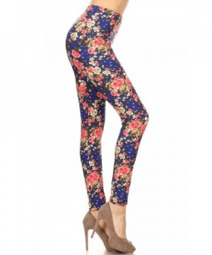 Print Leggings Charming Florals LN224 OS