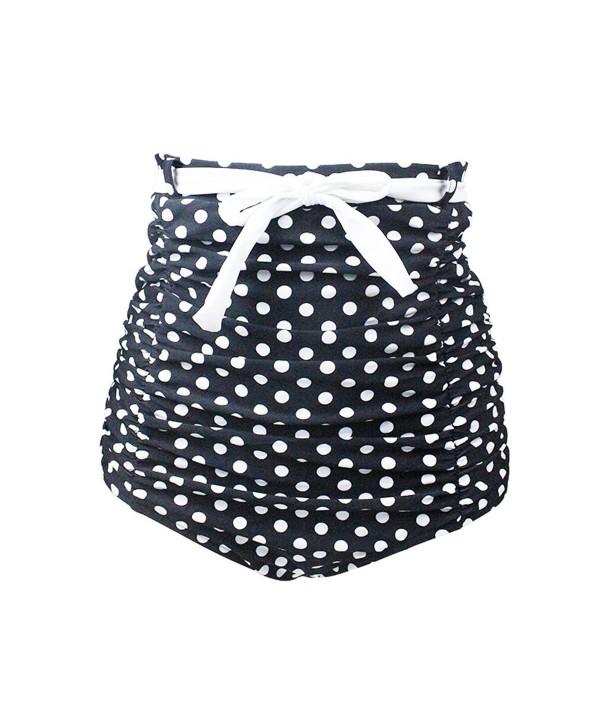 Gigileer Womens Waisted Bikini Bottom