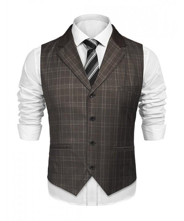 SIMBAMA Skinny Waistcoat Gentleman Business
