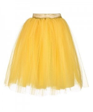 AOMEI Line Lolita Skirts Yellow