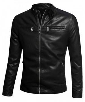 Fairylinks Jacket Vintage Leather Windbreaker