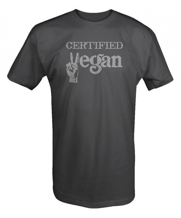 Certified Vegan Peace Organic Shirt