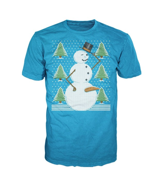 Snowman Dangling Sweater Christmas Graphic